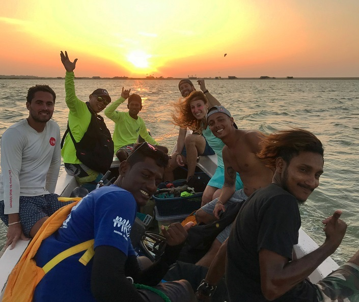 Kitesurfing Sri Lanka kite trips