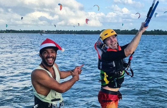 Margarita village kalpitiya kite lessons