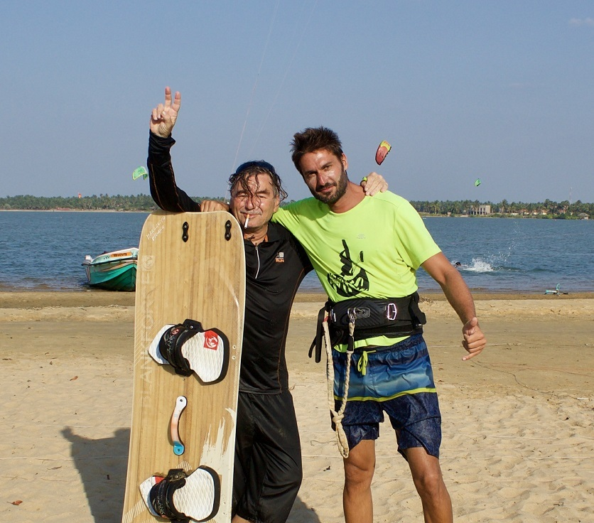 how to waterstart kitesurf