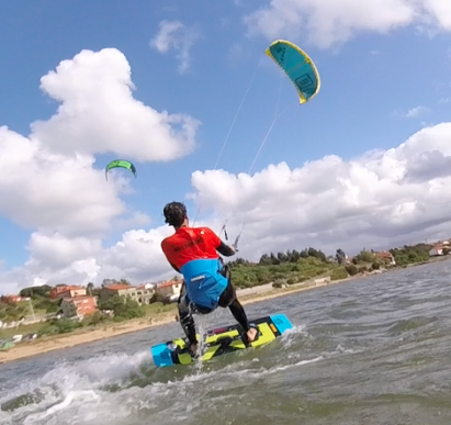 kitesurfing in cantabria