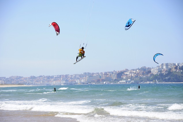 where to kite in Cantabria